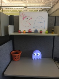 Ghost Lamp and desk decorations