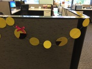 Ms Pac-Man and Pac-Man Garland
