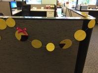Ms Pac-Man and Pac-Man Garland