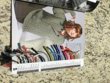 Yarn catalog with samples!