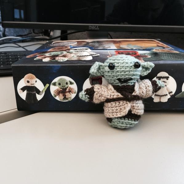 Poor footless Yoda