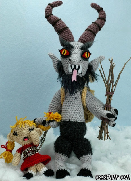 Photo of Krampus from Croshame.com.